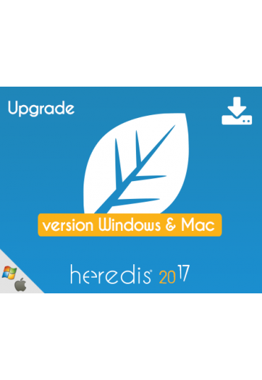 Bundle - Heredis 2017 for WINDOWS & MAC - UPGRADE
