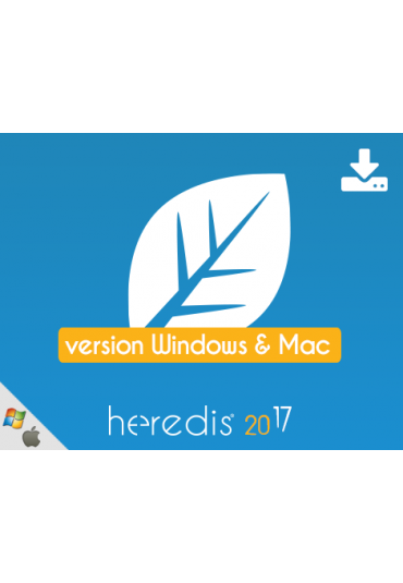 Bundle - Heredis 2017 for WINDOWS & MAC
