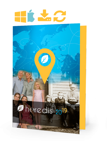 Heredis 2019 for WINDOWS & Mac - UPGRADE