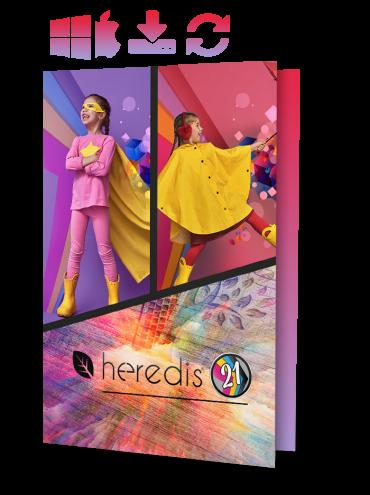 Heredis 2021 for WINDOWS & Mac - UPGRADE