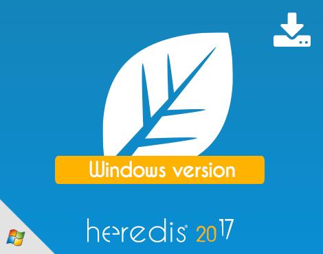 Heredis 2017 for WINDOWS